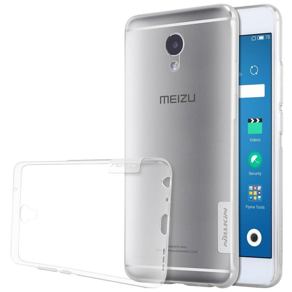 Nillkin Nature TPU Soft Case Casing Cover Meizu M5 Note - Transparan