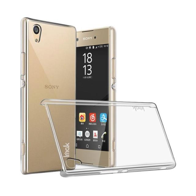 Imak Crystal II Hard Case Casing Cover for Sony Xperia XA1 Ultra - Transparan: Rp