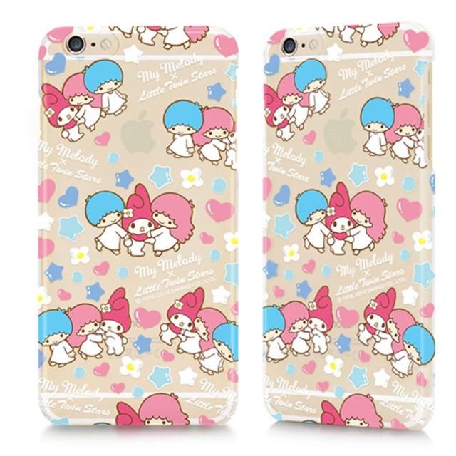 GARMMA 美樂蒂X雙子星 iPhone 6/6S 4.7吋-保護硬殼 泡泡款