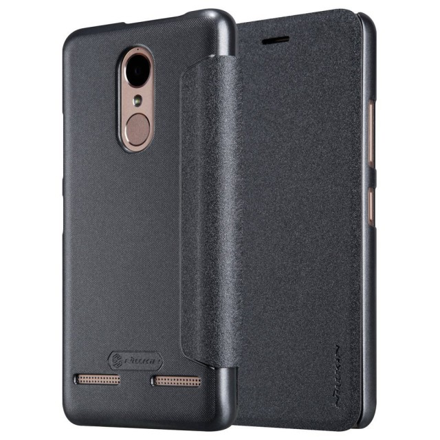Nillkin Sparkle Leather Flip Case for Lenovo K6 Power - Hitam: Rp 153.000 Rp 117.000