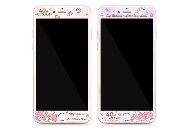GARMMA 美樂蒂X雙子星  iPhone 6/6S 4.7吋-全包式鋼化玻璃膜