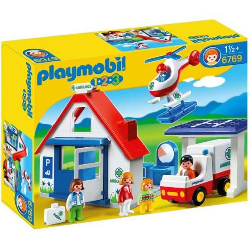 Playmobil 摩比 6769 醫院組
