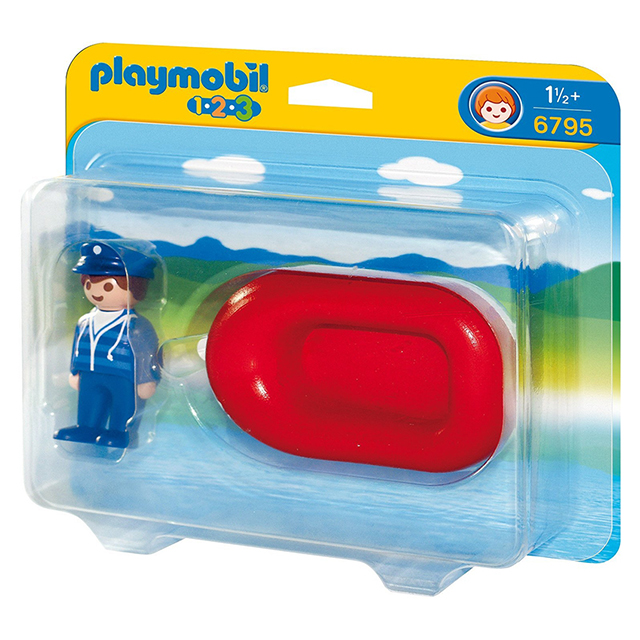 Playmobil 摩比 6795 救生艇
