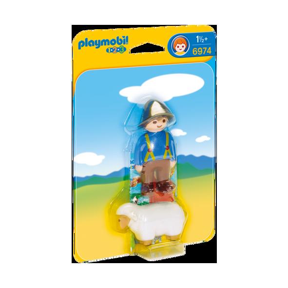Playmobil 摩比 6974 男孩與羊