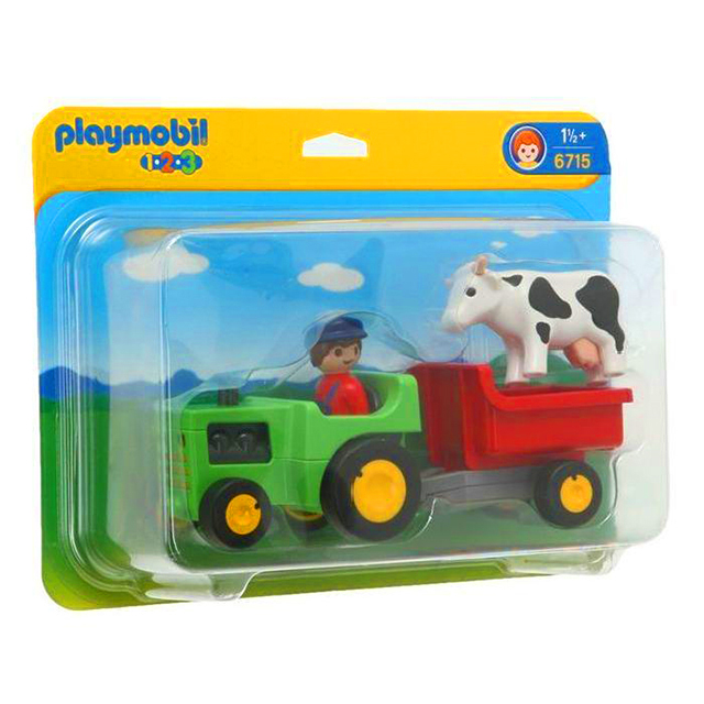 Playmobil 摩比 6715 農場牽引機