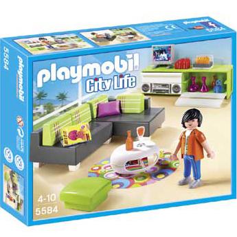 Playmobil 摩比 5584 客廳