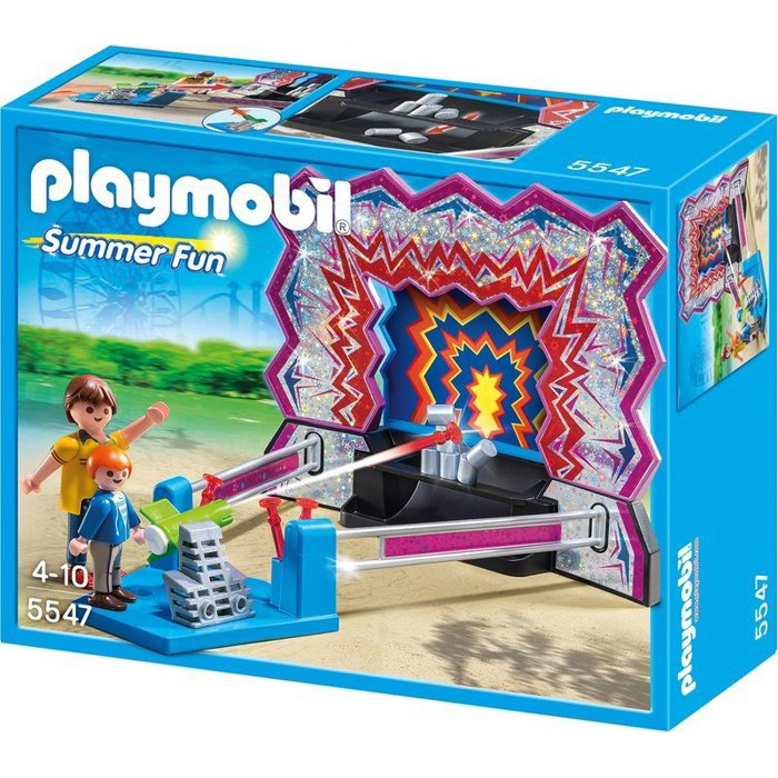 Playmobil 摩比 5547 遊樂園射擊場