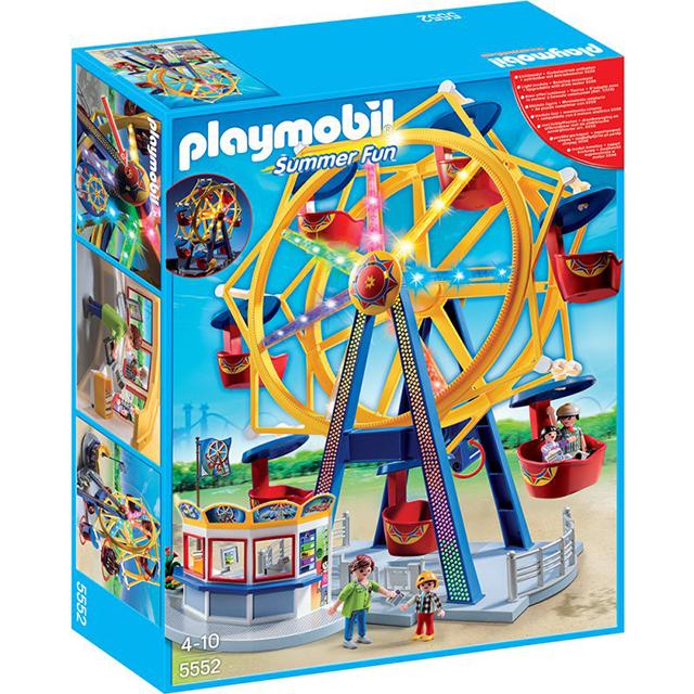 Playmobil 摩比 5552 遊樂園摩天輪