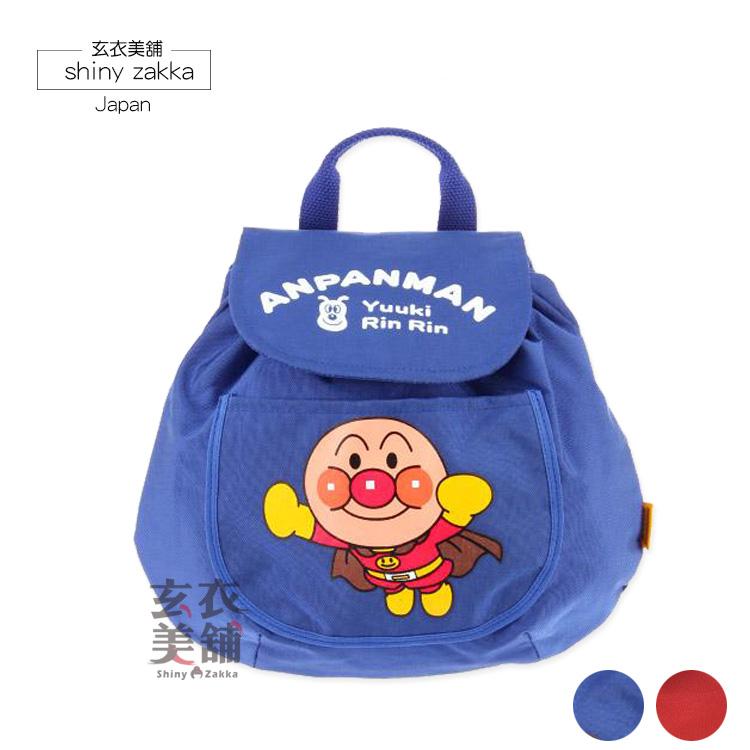 兒童後背包-日本製麵包超人 尼龍後背包-玄衣美舖
