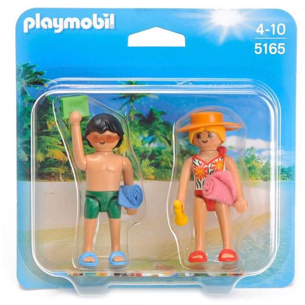 Playmobil 摩比 5165 海灘男女吊卡