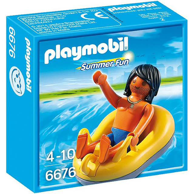 Playmobil 摩比 6676 水上樂園 游泳圈
