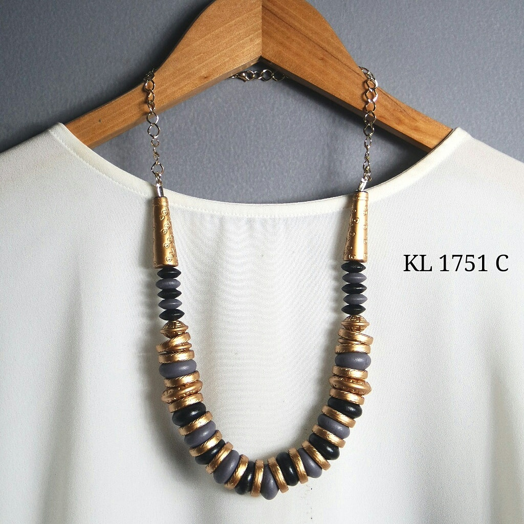Beads Hits Shop Line Kalung Etnik Kl 1751 C