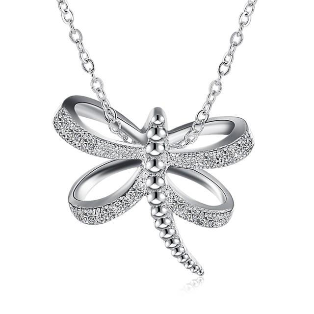 Bella&Co Necklace LKNSPCN865 Aksesoris Kalung Lapis Silver: Rp 118.000
