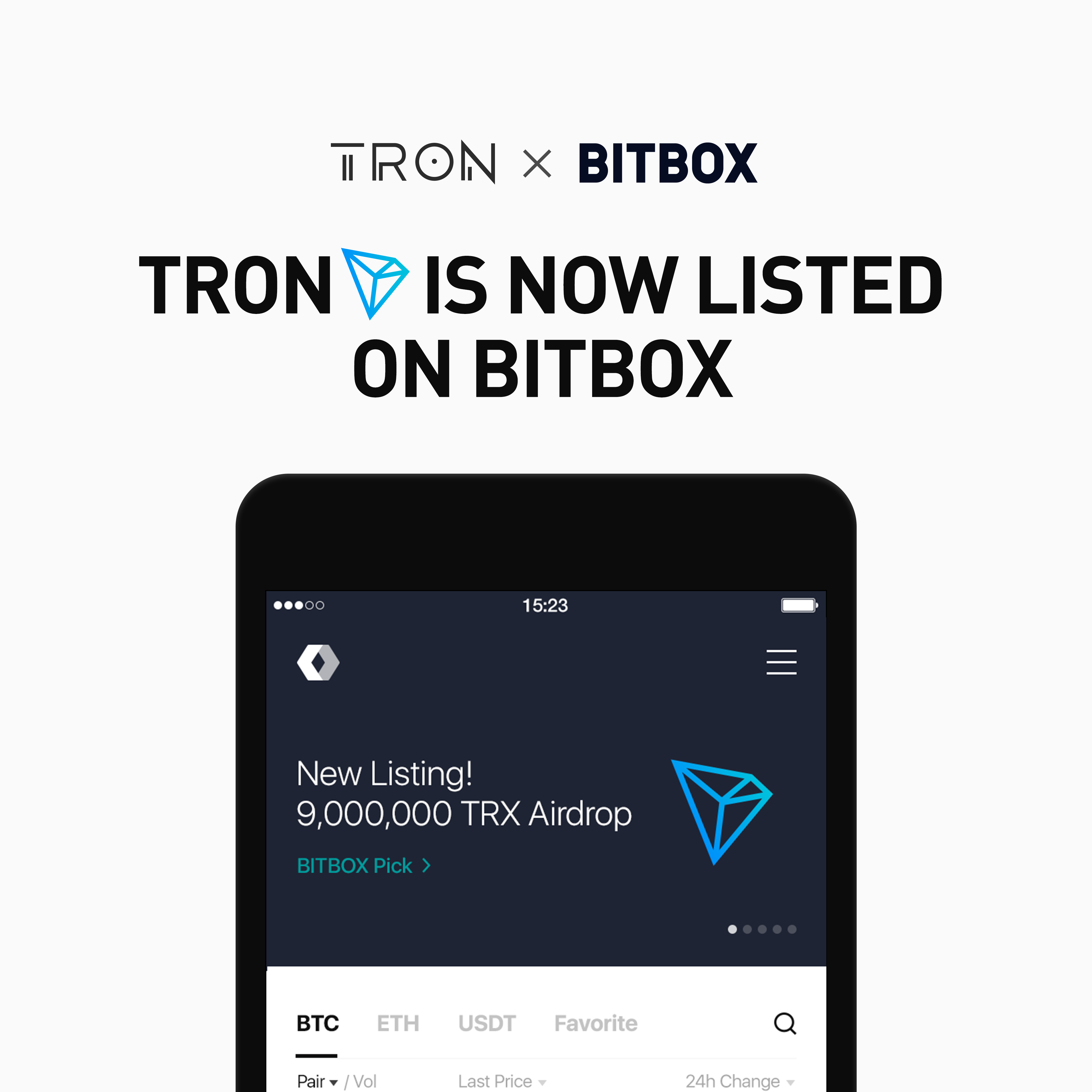 Social Media Giant LINE Adds Tron (TRX) To Its BitBox Exchange 14