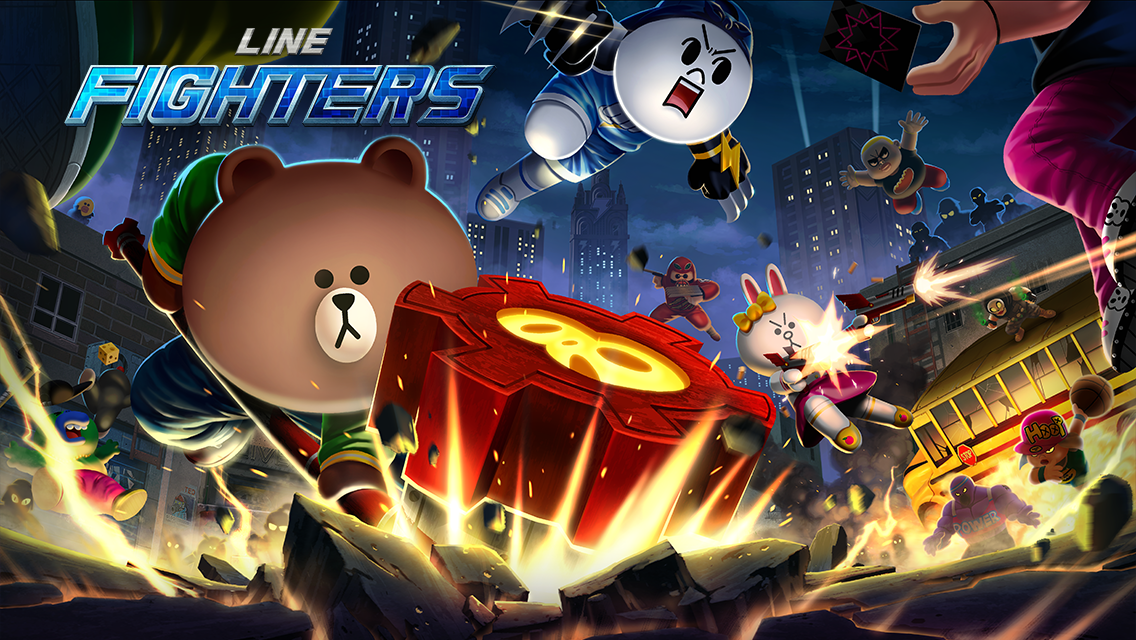 "Global]【LINE GAME】Ferociously Cute Action RPG ""LINE"