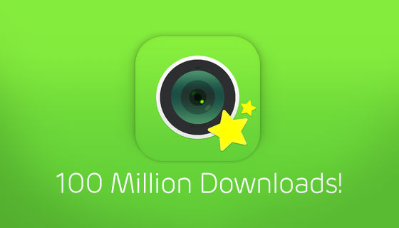 LINE camera] LINE camera Surpasses 100 Million Global Downloads ...