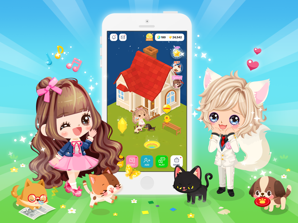 [LINE PLAY]Virtual Avatar Community App With Over 30 ...
