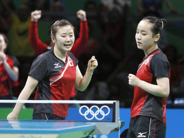 卓球女子団体が銅メダルを獲得!3位決定戦制す