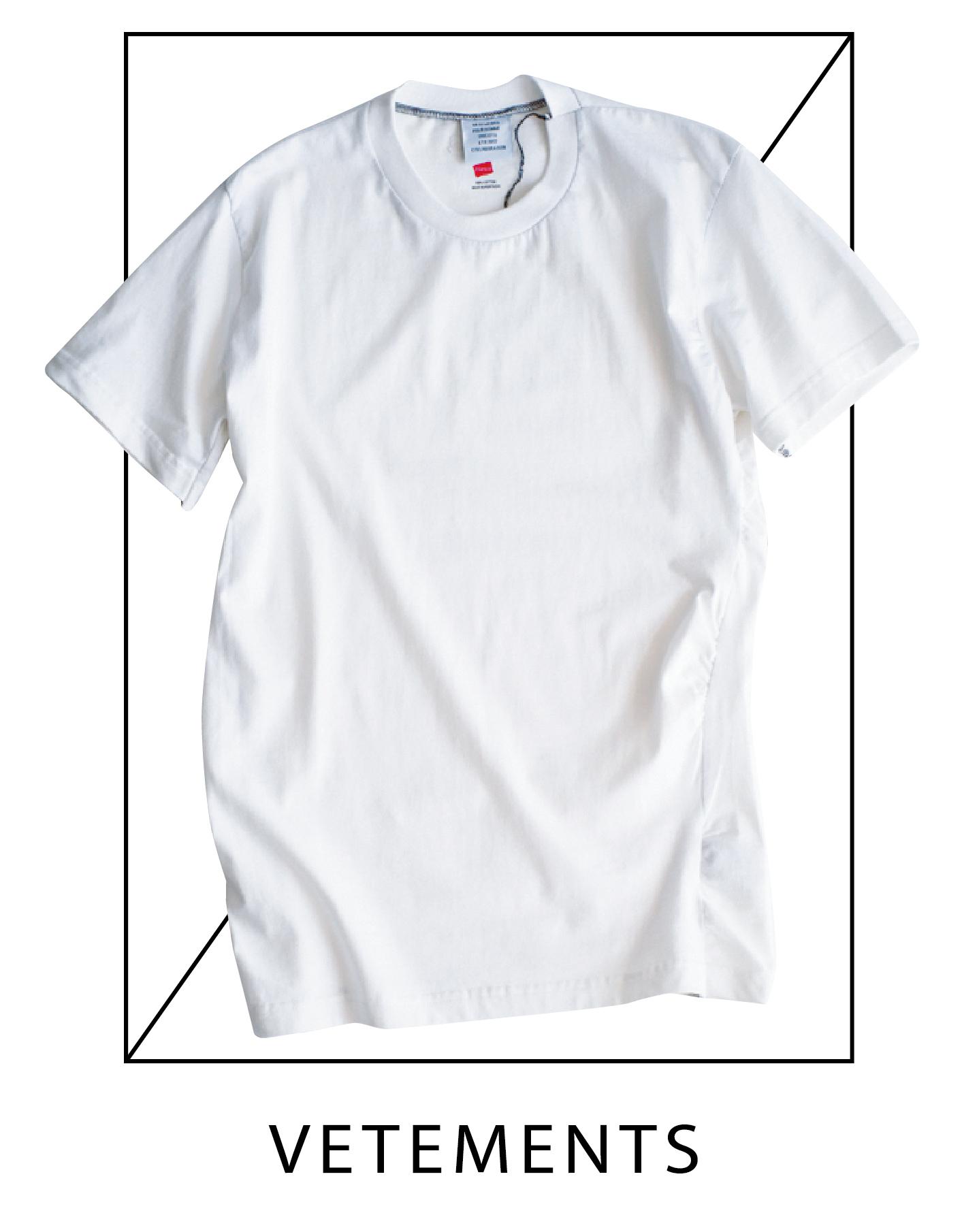 f6fabc51a6904 右)ヘインズのTシャツを一度解体して再構築。「一枚で着てもよいデザインですが、ガウンとあわせて着るのが夏のマイスタイル。首がつまったタイプのTシャツは袖を  ...