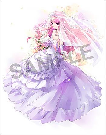 ミニスカート姿も楽しめる『ゼロの使い魔』ルイズの花嫁