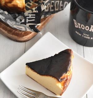 真っ黒だけどほんとに大丈夫?話題の「バスクチーズケーキ」超
