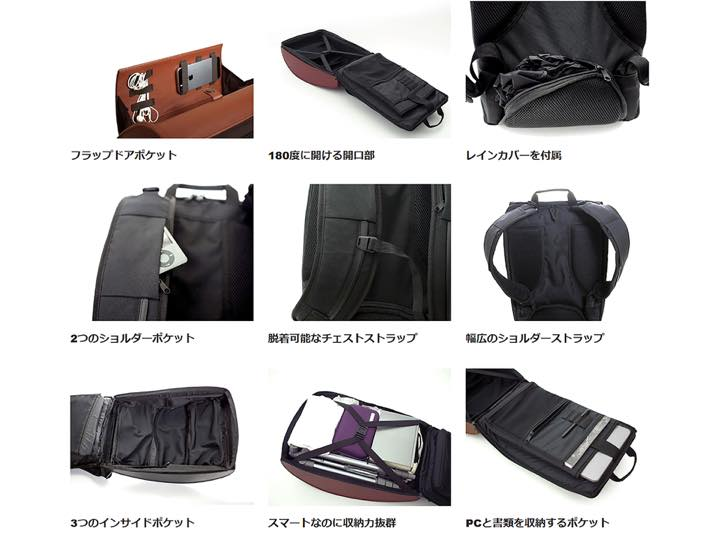 116daa6204 目を引くデザインだけでなく、機能性にも優れているんです。バッグのフロント部分の上下はスナップボタンで留められたフラップドアにより、出し入れが簡単。