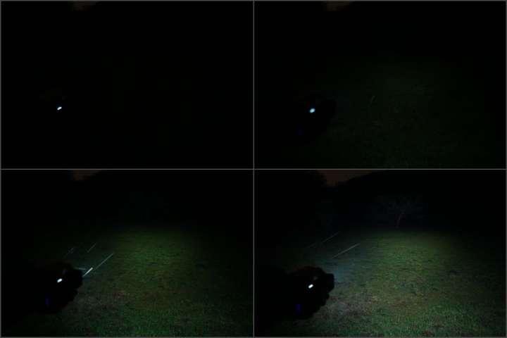 88bab38f0bf2 たとえ1000ルーメンであったとしても、それをXHP35 6灯で照射しますので、ボディはあまり熱を持つことなく効率的に連続照射が可能です。このサイズのライトでそれが  ...