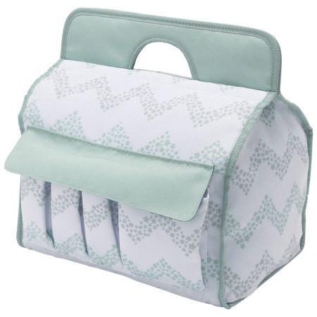 21ae3a2adc1be おむつやおしりふきなど、赤ちゃんのお世話グッズがすっきり収納できるボックス。やわらかな布製なので、赤ちゃんの側に置いて、万が一ぶつかってしまっても安心 です。