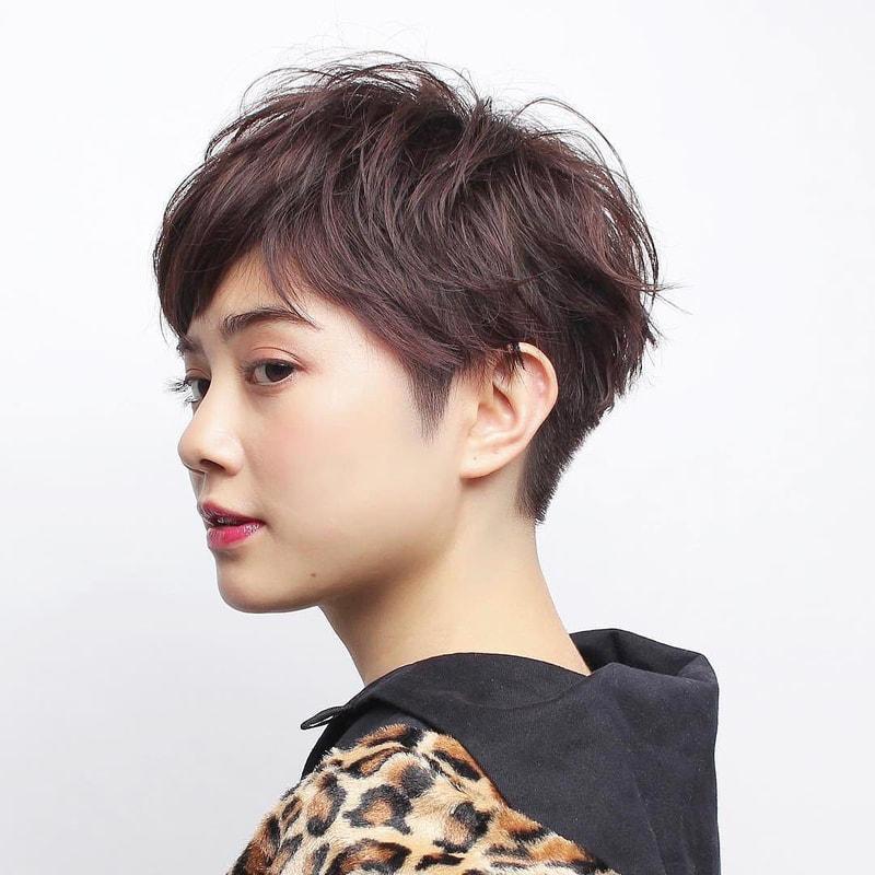 ショート パーマ レディース 【2021年春】どれが好み?ショートパーマのヘアスタイル・髪型・ヘア...
