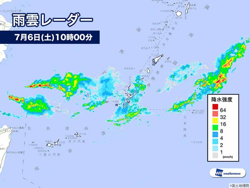 沖縄 天気 雨雲 レーダー