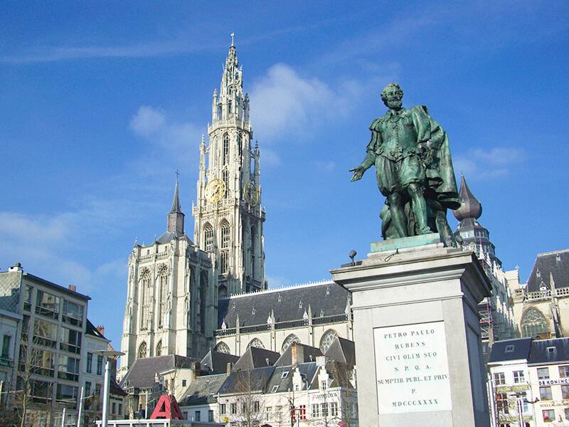 「フリー素材 ベルギー 観光 大聖堂」の画像検索結果