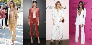 d293ac0586271 アティコのデザイナー、ギルダ・アンブロジオはプラダのスカートとサンダルでWフェザー。/ジェイ メンデルのミニドレスを選んだヴィクシーエンジェルのサラ・  ...