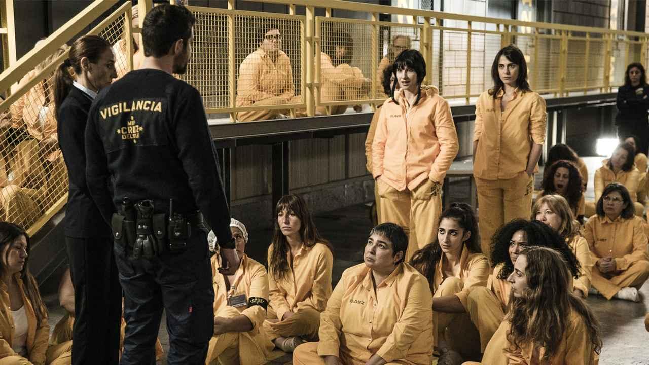 スペイン 女子 刑務所 ロック アップ