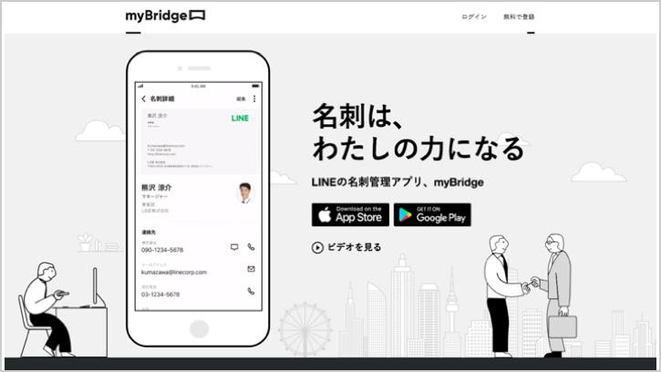 5bb2d4af4d7f myBridgeは、名刺の取り込みから情報管理、モバイルへの連携までをまとめておこなえるアプリです。これまでの名刺管理アプリよりもシンプルさを追求し、そして、すべて  ...
