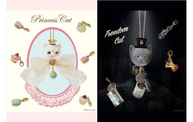"""ae426d3fe399c 左/Q-pot.TOWNの立派なお屋敷でみんなから愛されて育った""""PRINCESS CAT""""。"""