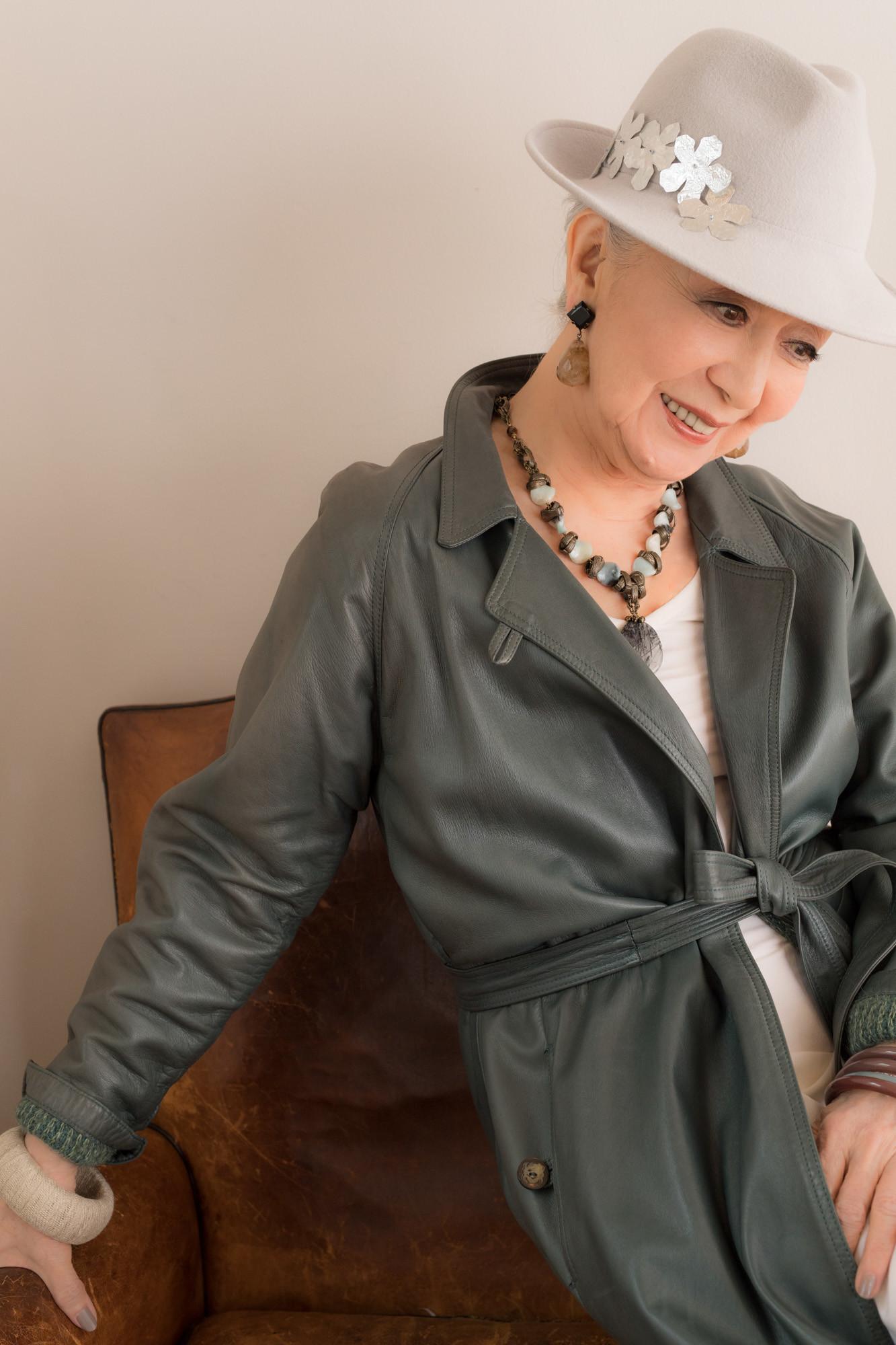 84歳のファッションリーダー草笛光子が語るファッション観