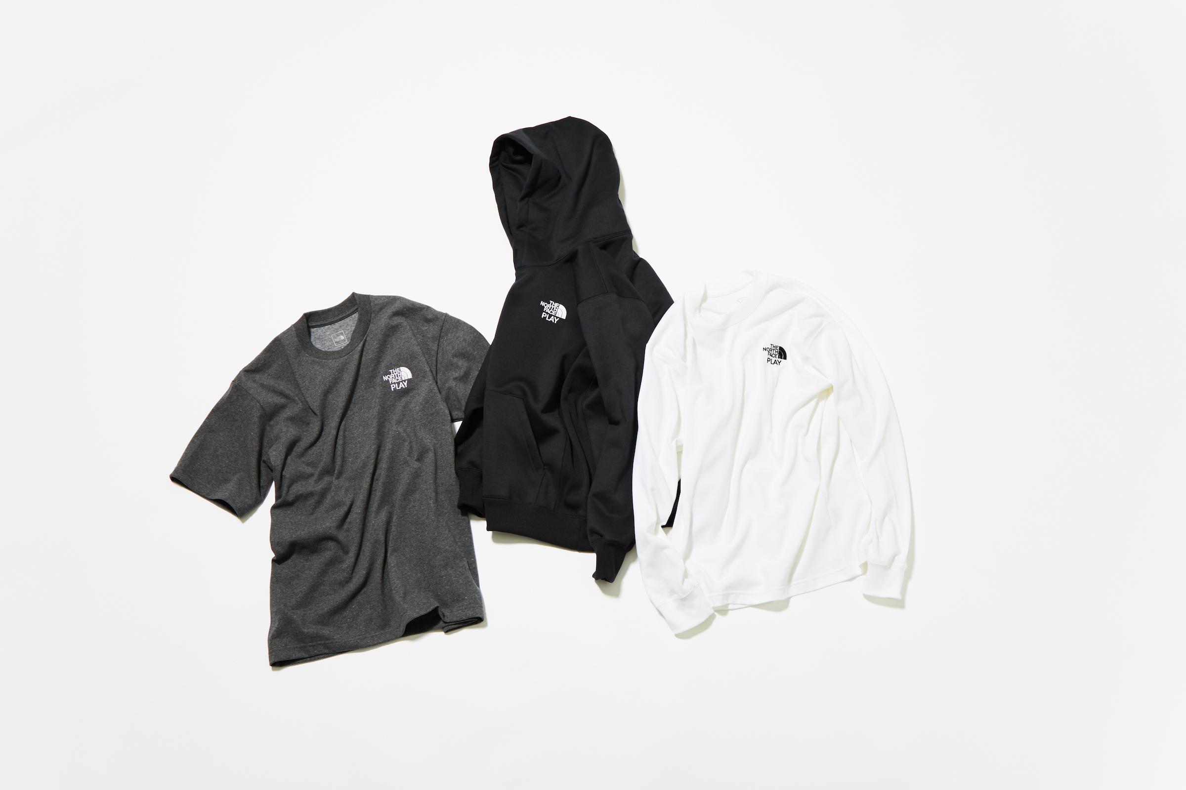 79e670c71616 限定コレクションでは、右袖に「THE NORTH FACE PLAY」のロゴが配されたコーチジャケット(2万5,000円)やアノラック(3万円)、速乾性に優れたフーディー(1万3,000  ...