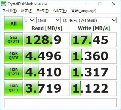 c9a7692469 USB Type-A端子はUSB 3.1 Gen1に対応しており、PCのUSB 3.0もしくは3.1端子に接続 した際は高速転送が可能。もちろんUSB2.0でも使えます。書き込み速度はお世辞にも速い ...