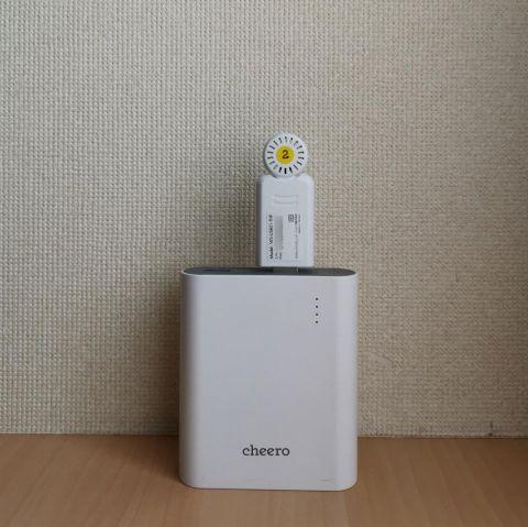 0b68778cab901 もちろん、そばにACコンセントのない場所では、どこにでもある安価なUSBモバイルバッテリーを使用することもできる。ただし、一部途中で給電をストップしてしまうUSB  ...