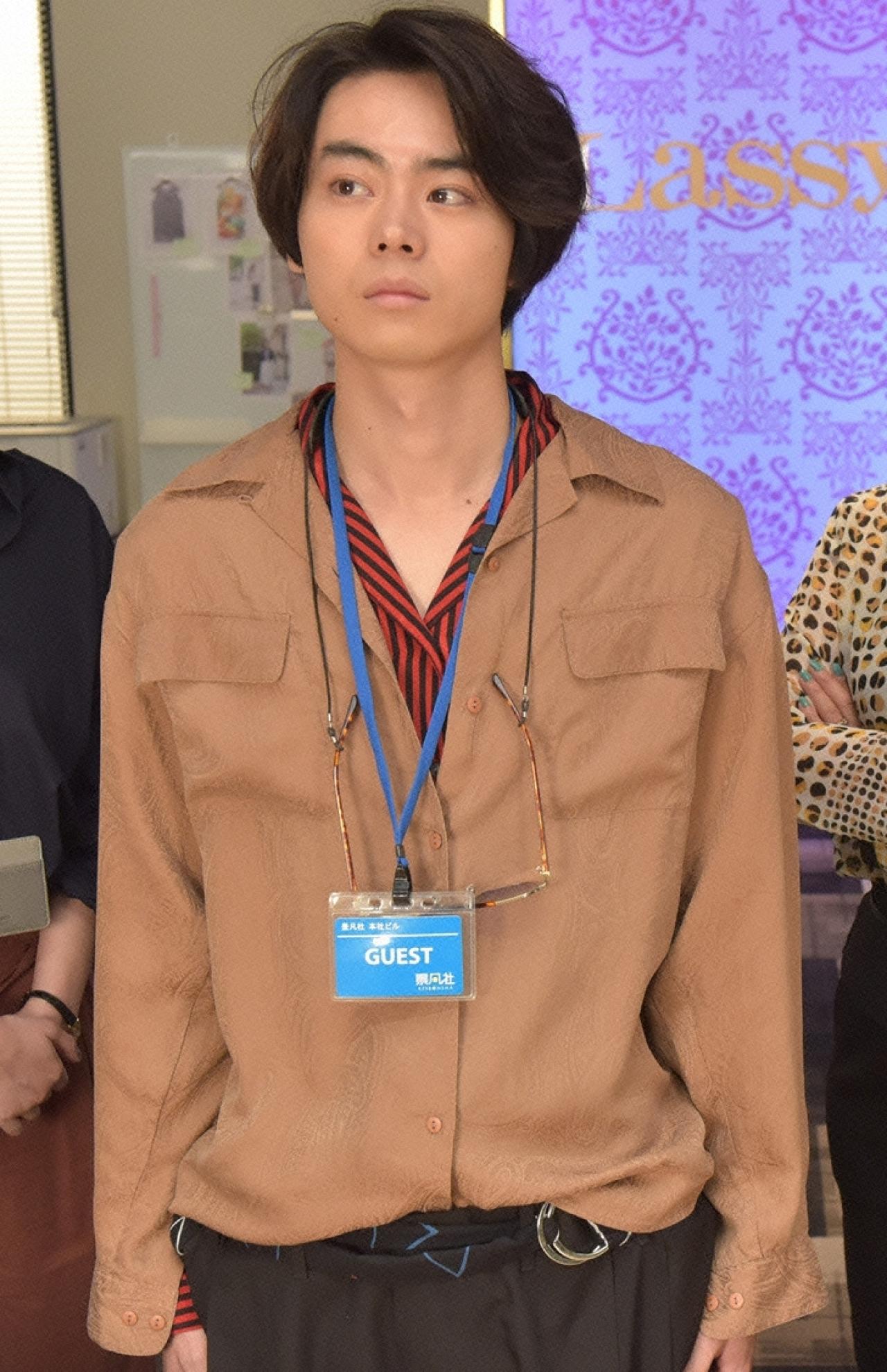 『校閲ガール』で石原さとみと共演する菅田将暉 (C)日本テレビ