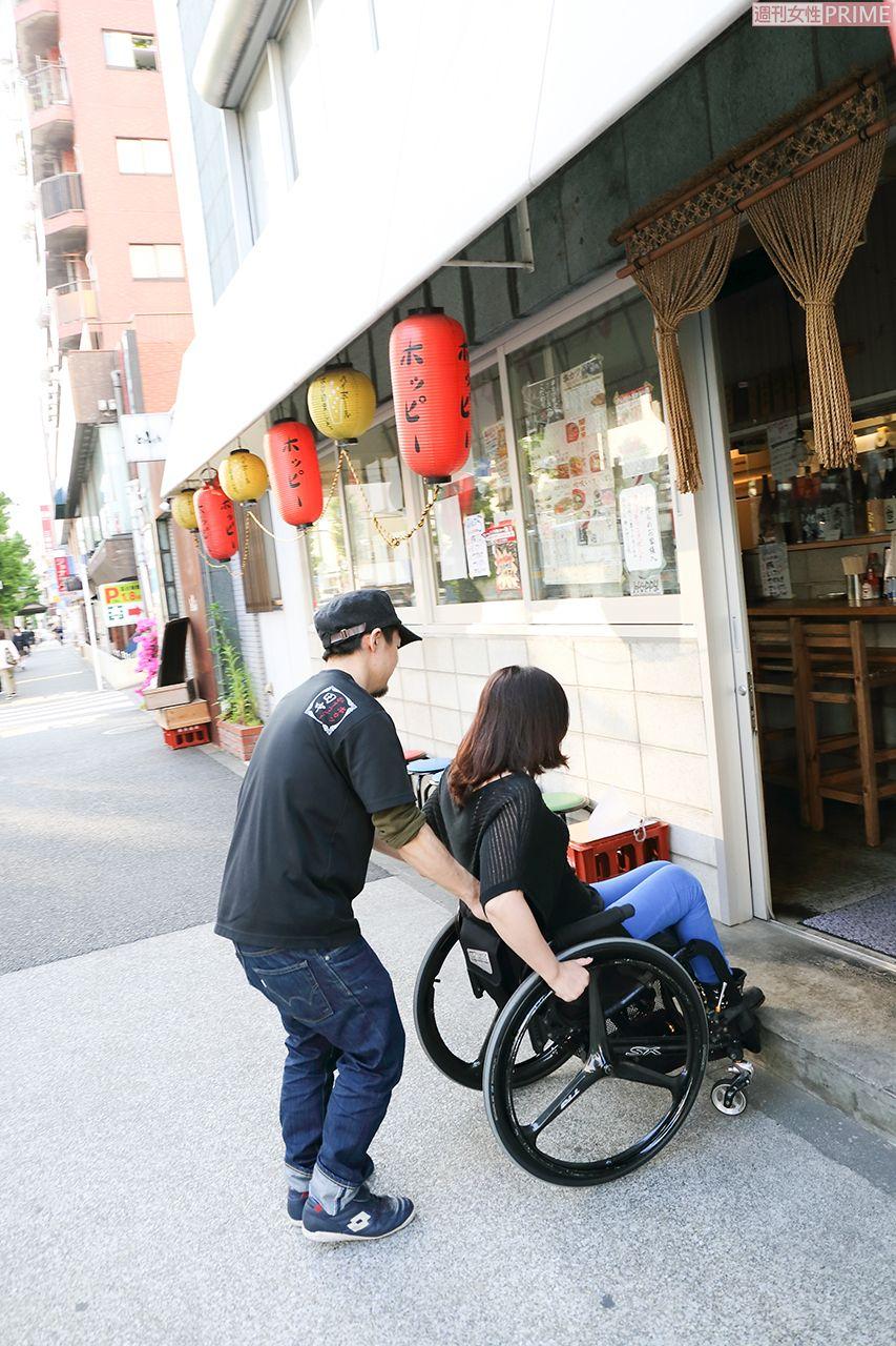前田 敦子 車椅子