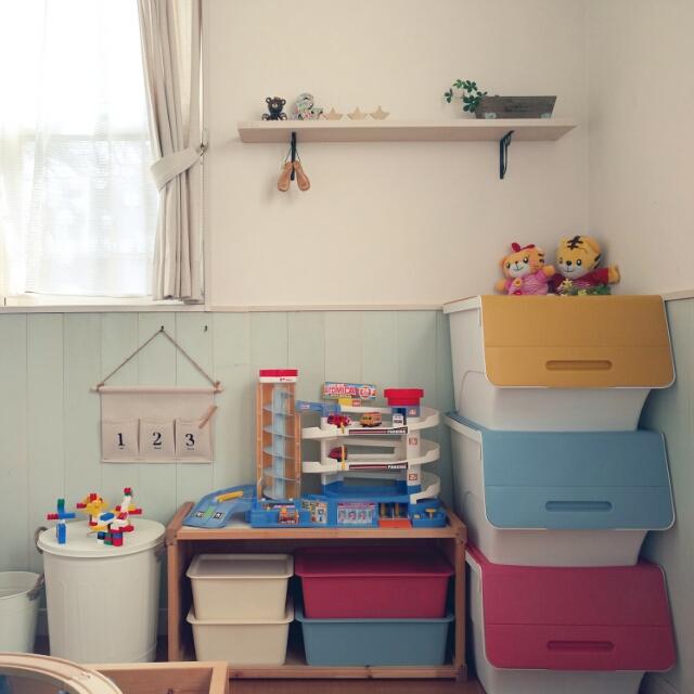 可愛くって機能的ikeaのtrofaststuvaでおもちゃ収納 Roomclip Mag