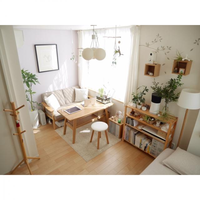 4a7d017024 無印良品」で作るシンプル・ナチュラル・モノラルな部屋 (RoomClip mag)