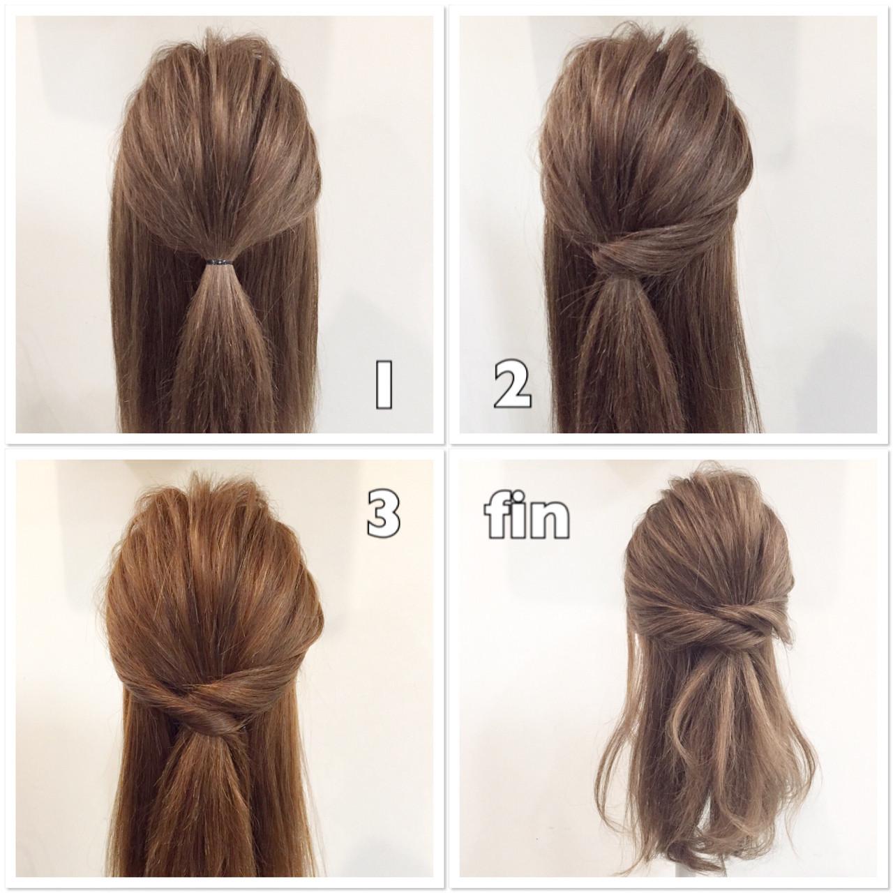 簡単で挑戦しやすい!直毛さんのためのヘアアレンジ集