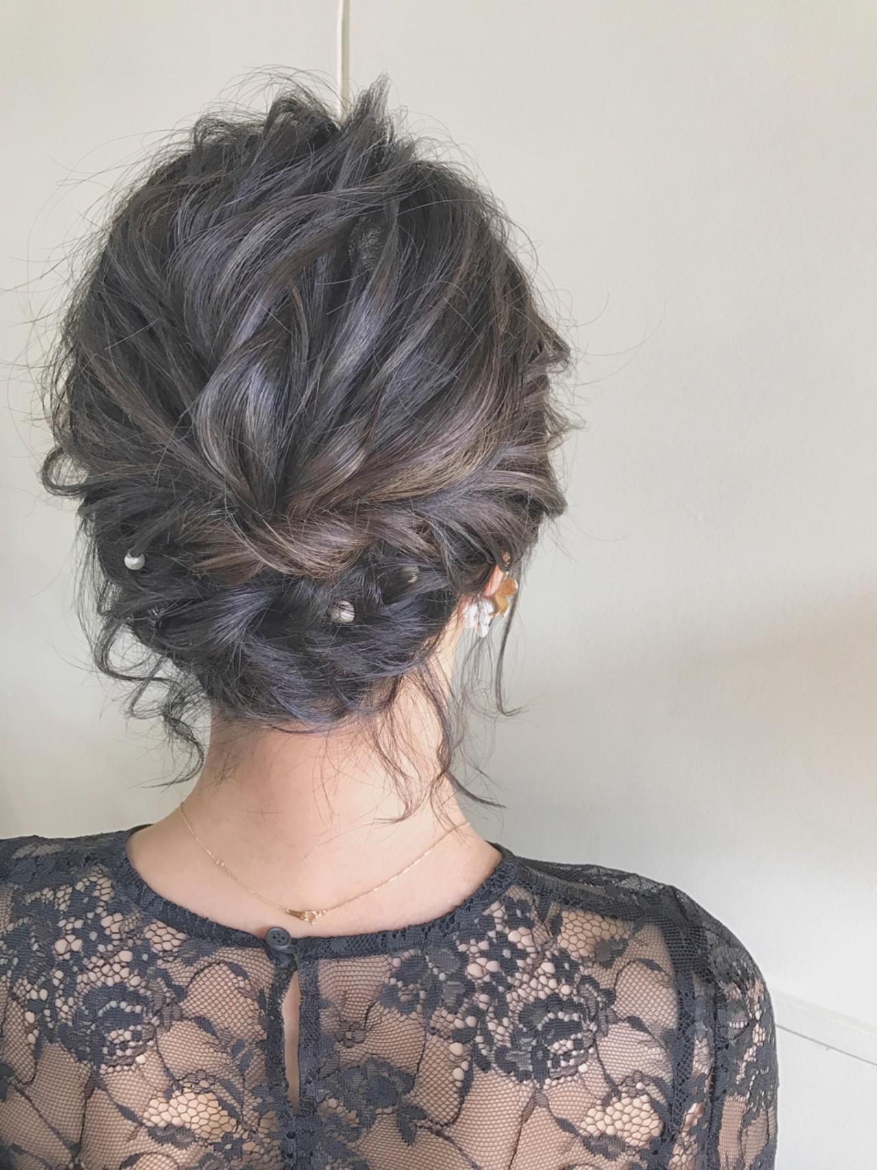 ウェディング ドレス 髪型 ミディアム - Best Hair Style (最高の ...