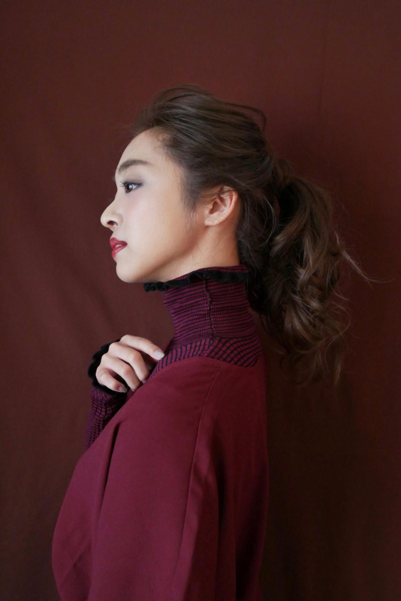 c59b3fae2051 伸ばしかけでも大丈夫♡前髪のタイプ別まとめ髪10選 (HAIR) - LINE ...