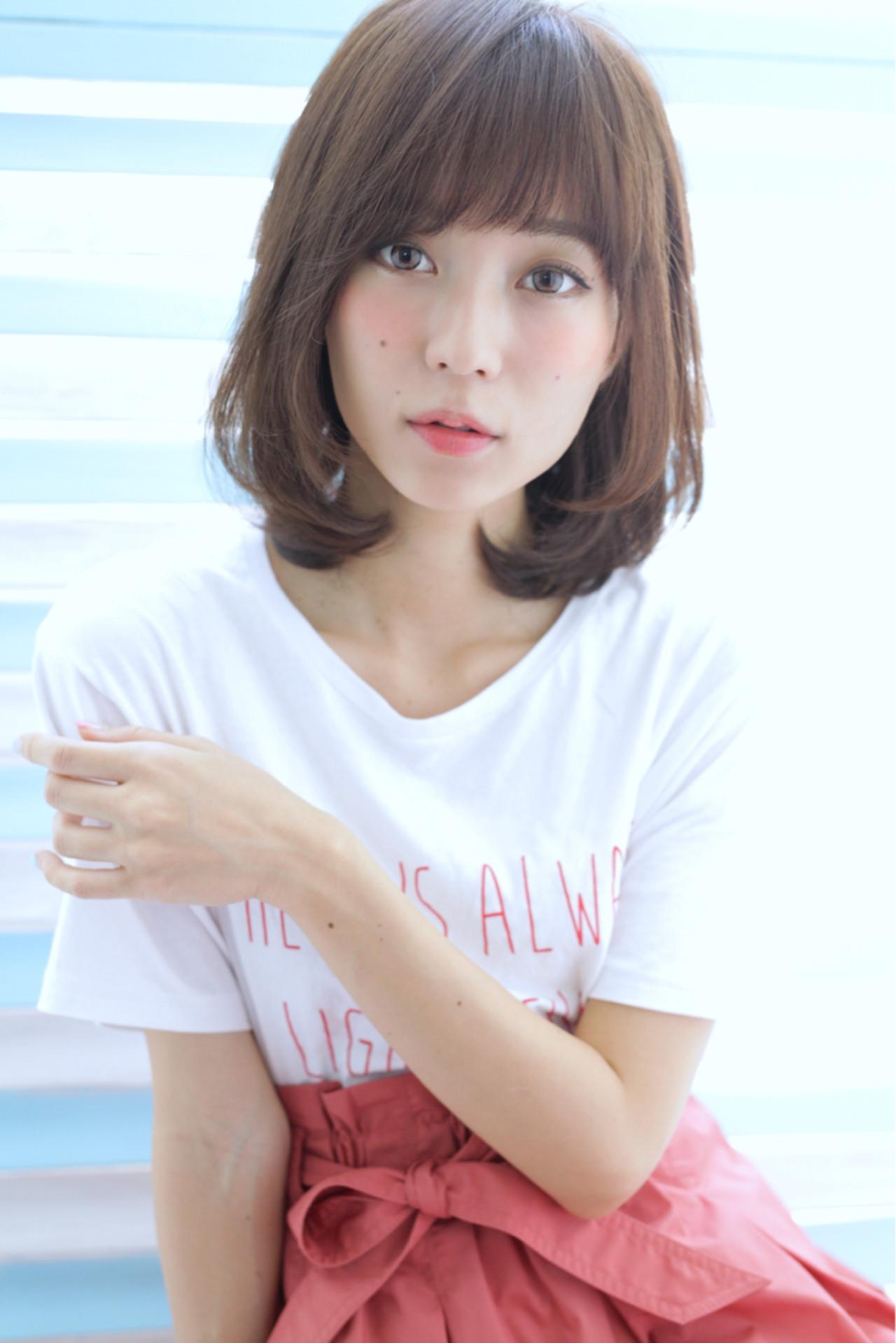 a11d92c59e76 浴衣に合わせたいミディアムヘアの夏っぽアレンジ大特集♡ (HAIR) - LINE ...