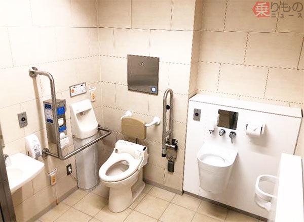 東京モーション トイレ