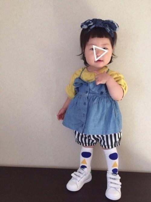 e06b5cff506c9 出典:http   wear.jp hiromiiiiiiiiii 10112368] こちらは、西松屋のストライプパンツを使った コーデ。シルエットが堪らない可愛さのかぼちゃ ...